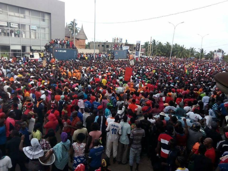 Grand rassemblement de l'opposition le 5 Octobre à Lomé