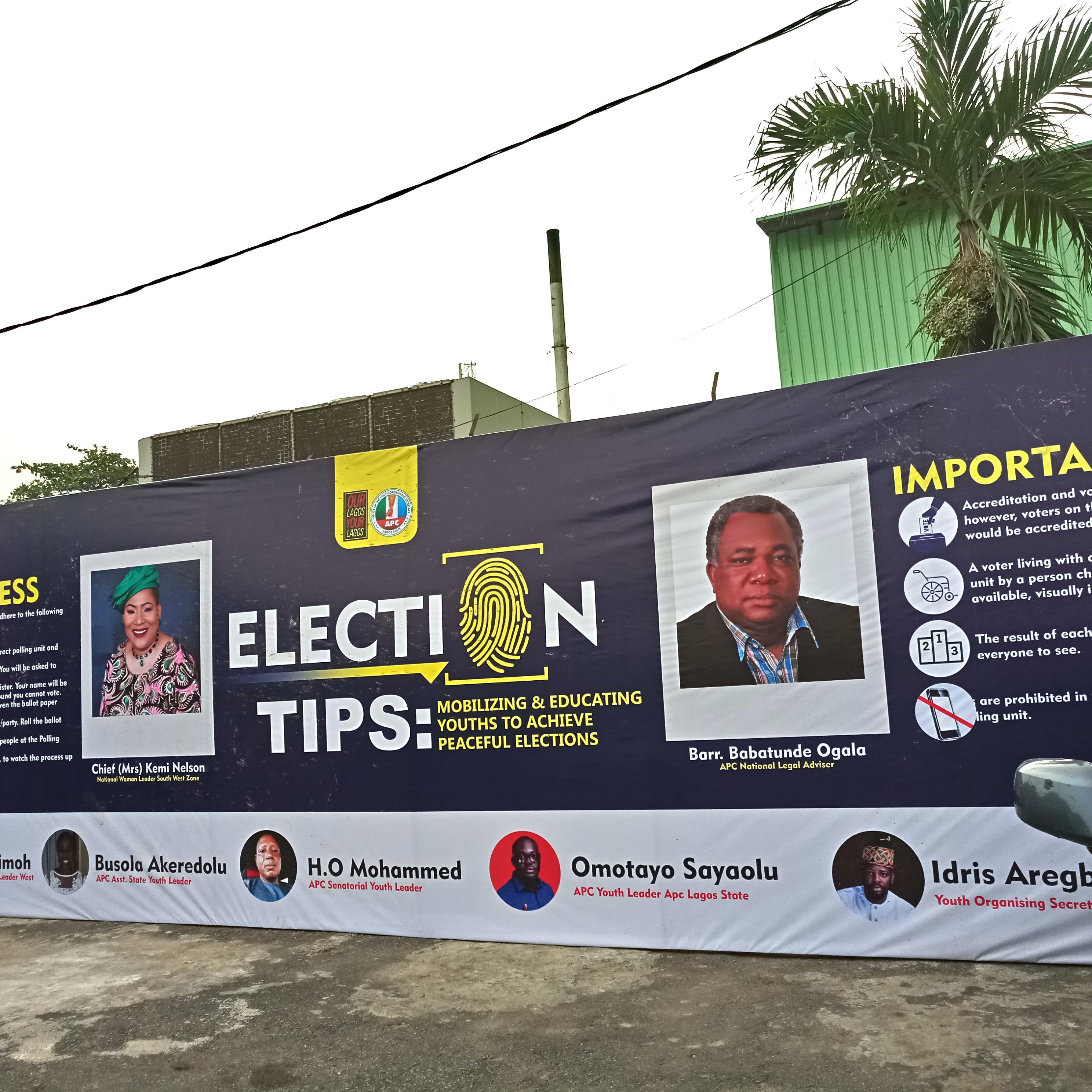 Elections génrérales au Nigeria – Photo crédit Dany Ayida